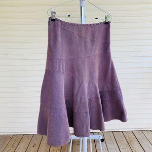 DKNY Jeans 90's Purple Corduroy Skirt